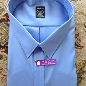 JOSEPH & FEISS TALL MEN LONG SLEEVE SHIRT NWT